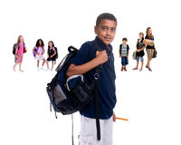 dziecko do szkoły obraz royalty free