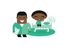 Dziecko dzieciaka szpitala ilustracja Zdjęcie Royalty Free
