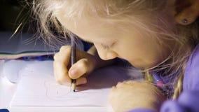 Dziecko dziewczyny rysunek zbiory
