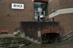 Dziecko eksploatacja Londyn i Online ochrony centre Zdjęcia Stock