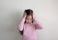 Dziecko emocja fotografia royalty free