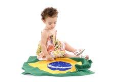 dziecko flaga zdjęcie stock