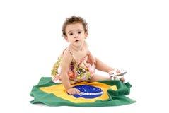 dziecko flaga zdjęcie royalty free