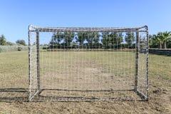 dziecko football grać Zdjęcia Royalty Free