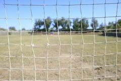 dziecko football grać Zdjęcie Royalty Free
