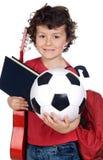 dziecko gitary księgowej jaja Zdjęcie Royalty Free