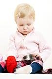 dziecko gra Fotografia Stock