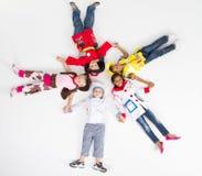 dziecko grupa Zdjęcia Stock