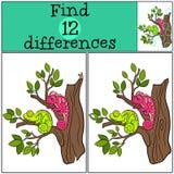 Dziecko gry: Znalezisko różnicy Obraz Royalty Free