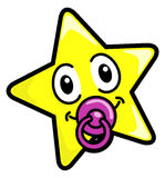 dziecko gwiazda Zdjęcia Royalty Free