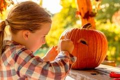 dziecko Halloween Obrazy Royalty Free