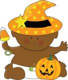 dziecko Halloween Zdjęcia Royalty Free