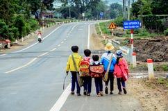 Dziecko iść szkoła Fotografia Royalty Free