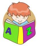 Dziecko i książka Zdjęcie Royalty Free