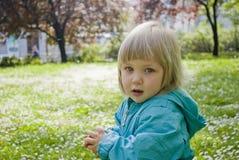 Dziecko i natura Obrazy Stock