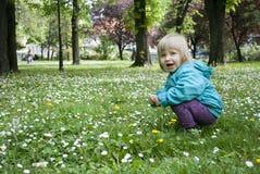 Dziecko i natura Zdjęcie Royalty Free