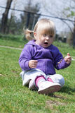 Dziecko i natura Fotografia Stock