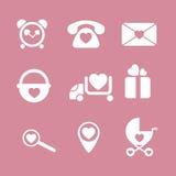 Dziecko ikon interfejsu dziecka dzieciak obraz royalty free