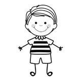 Dziecko ikony wizerunek Zdjęcia Stock