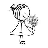 Dziecko ikony wizerunek Zdjęcia Royalty Free