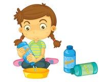 Dziecko ilustracja ilustracji
