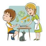 Dziecko je nic ilustracja wektor