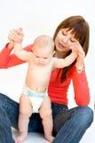 dziecko jej l matka obraz stock