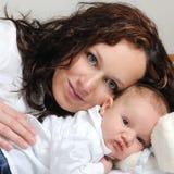dziecko jej macierzyści potomstwa zdjęcie royalty free