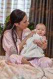 dziecko jej macierzyści słodcy potomstwa Obraz Royalty Free