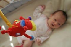 dziecko jest zabawka Obraz Stock