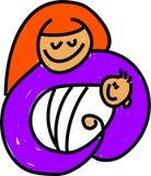 dziecko Jezusa ilustracji