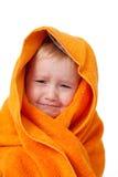 dziecko kąpielowy płacz Obrazy Stock