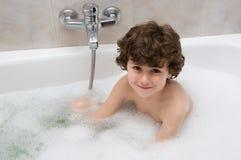 dziecko kąpielowy. Fotografia Royalty Free
