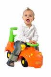 dziecko kierowca Zdjęcia Stock