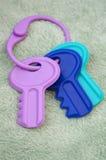 dziecko klucze Zdjęcie Royalty Free
