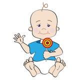 dziecko kreskówka Zdjęcia Royalty Free