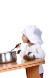 dziecko kucharz Zdjęcie Royalty Free