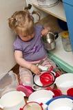 dziecko kuchnia Obrazy Stock