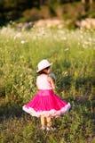 dziecko kwiat pola Zdjęcie Stock