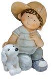 Dziecko lal rzeźba Obraz Royalty Free