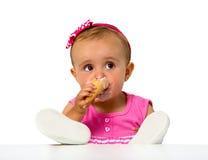 Dziecko lody Zdjęcia Royalty Free