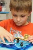 Dziecko logiczna gra Zdjęcie Royalty Free