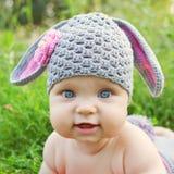 Dziecko lubi cakla lub królika Fotografia Stock