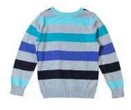 Dziecko męski pulower odizolowywający na bielu Obrazy Stock