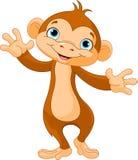 Dziecko małpa ilustracja wektor