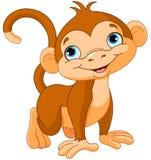 Dziecko małpa Obraz Stock