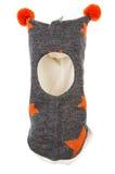 Dziecko hełma Jeden dziury kapeluszowa maska narciarska Fotografia Royalty Free