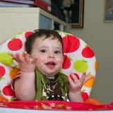 Dziecko makaron Zdjęcie Royalty Free