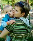 dziecko mama zdjęcia royalty free