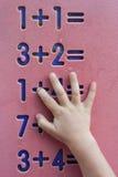 Dziecko matematyki Obraz Royalty Free